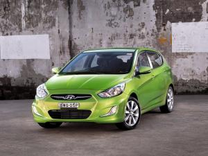 Hyundai Accent 5-Door 2011 года (AU)